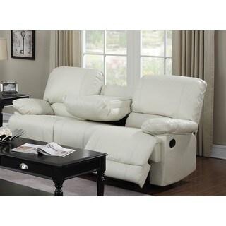 LYKE Home Daryl Cream Motion Sofa