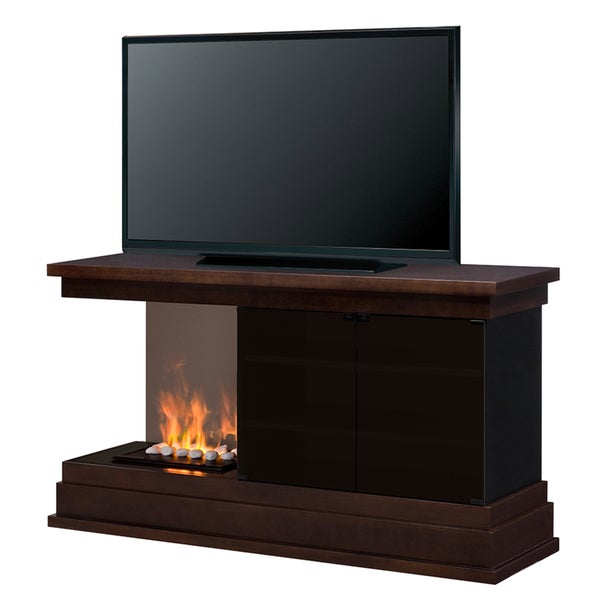 Dimplex Debenhem Media Console with White Rock Opti-Myst Flame Technology