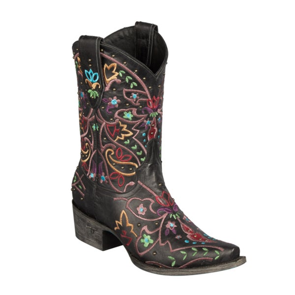 """Lane Boots """"Gypsy"""" Women's Leather Cowboy Boots"""