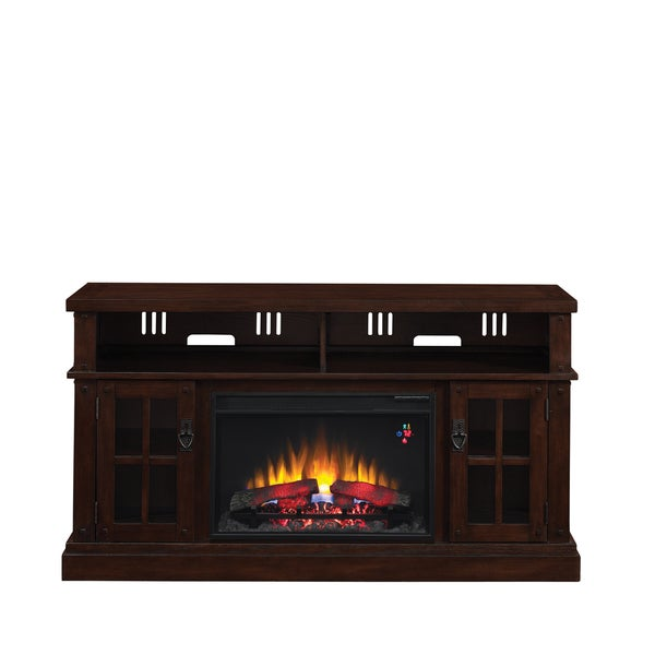 "ClassicFlame 79698-TCO Dakota TV Stand for TVs up to 65"" with 26"""