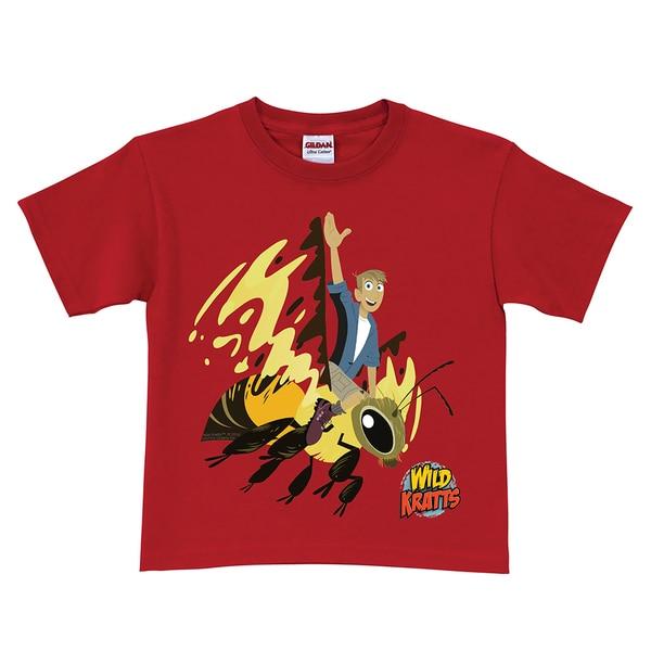 Wild Kratts Martin's Wasp Ride Red T-Shirt