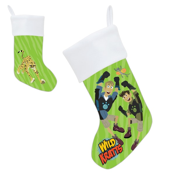 Wild Kratts Animal Adventure Stocking