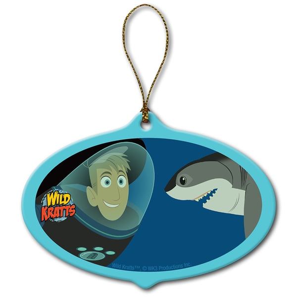Wild Kratts Underwater Adventure Shark Ornament