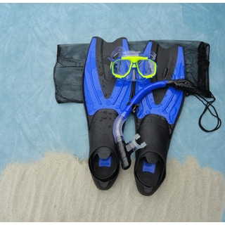 Sea Scapes Fins, Mask and Snorkel Set