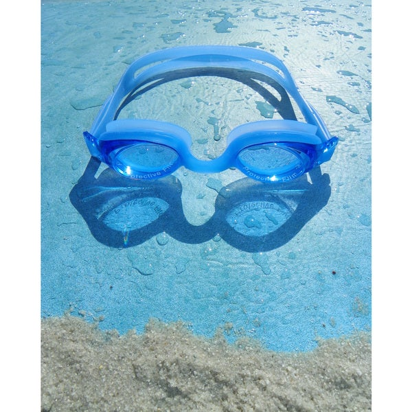 Blue Lagoon Silicone Goggles
