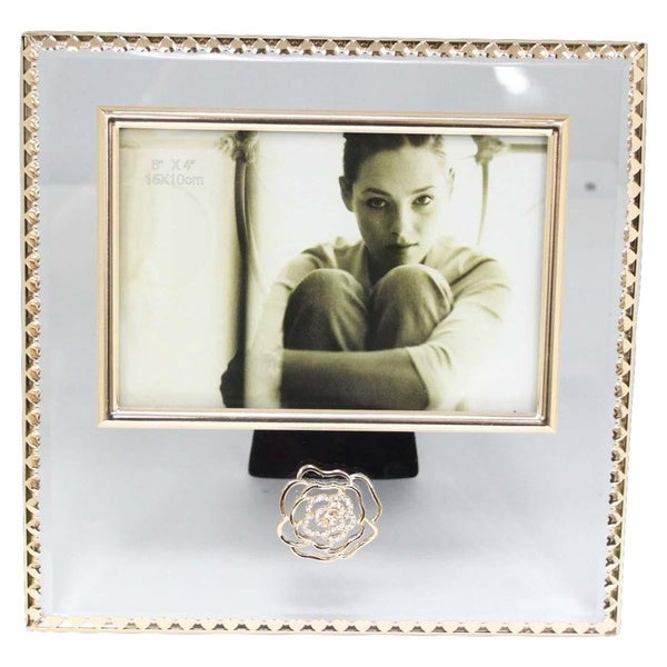 Elegance Glitzy Rose Photo Frame (6 x 4)