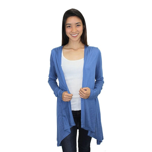 Relished Women's Dreamcatcher Light Blue Cardigan