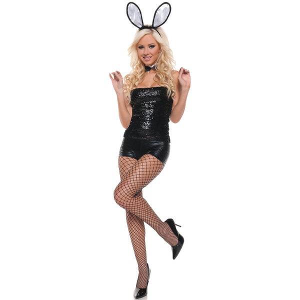Mystery House Sequins Bunny Costume