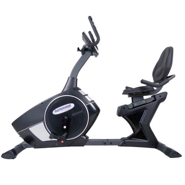 ActionLine Magnetic Programmable Recumbent Exercise Bike