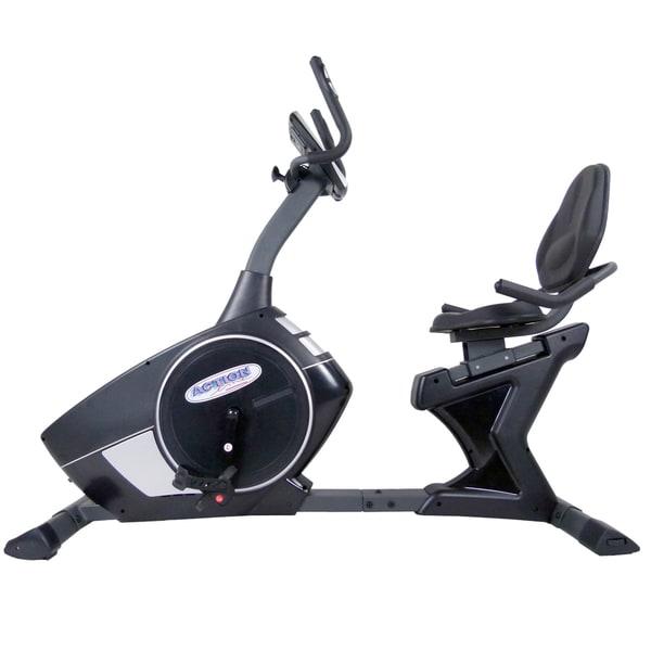 ActionLine Magnetic Programmable Recumbent Exercise Bike