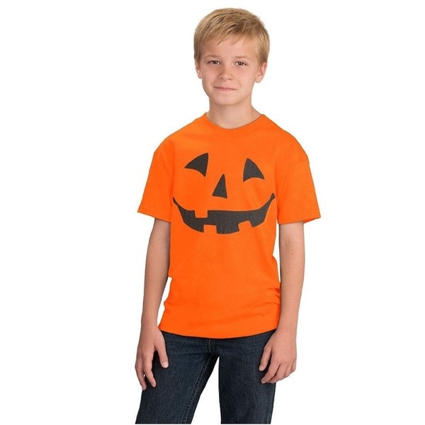 Boys' Jack O Lantern Halloween Costume T-Shirt