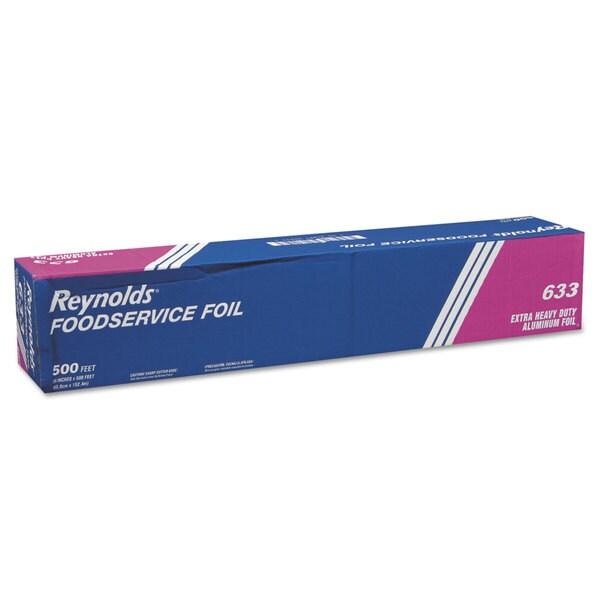 Reynolds Wrap Extra Heavy-Duty Silver Aluminum Foil Roll