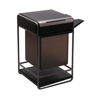 Bonsaii C-146 Cross-Cut Paper Shredder/Printer Stand Combo; 10 sheet capacity; 11.1 gallon capacity