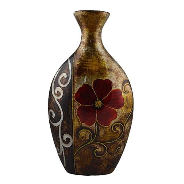 D'Lusso Designs Verona Design 16-inch Ceramic Vase
