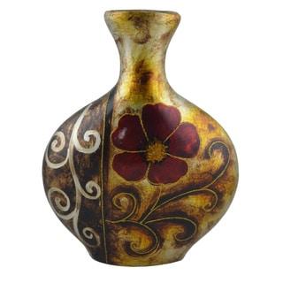 D'Lusso Designs Verona Design 13-inch Ceramic Vase