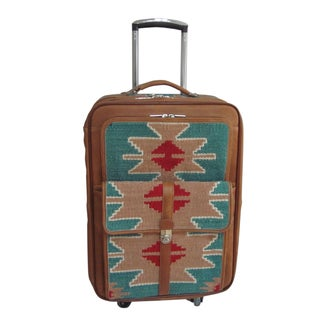 Amerileather Lhasa 21-inch Carry On Spinner Upright Laptop Suitcase