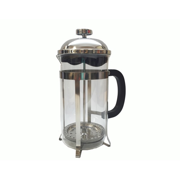 8-cup French Press Coffee and Espresso Maker Brews 1L / 34-ounce