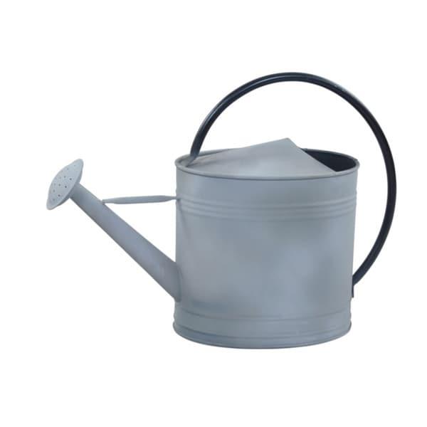 Alliyah Handmade Silver Grey Watering Fine Galvanized Can