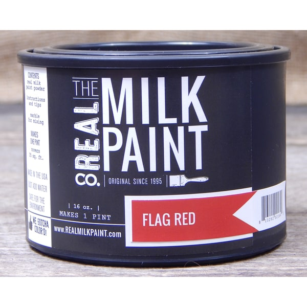 Flag Red Milk Paint