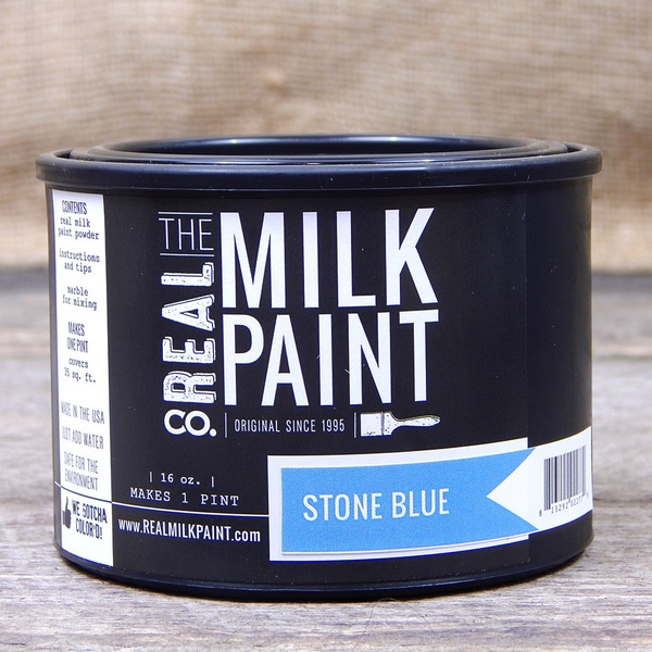 Stone Blue Milk Paint