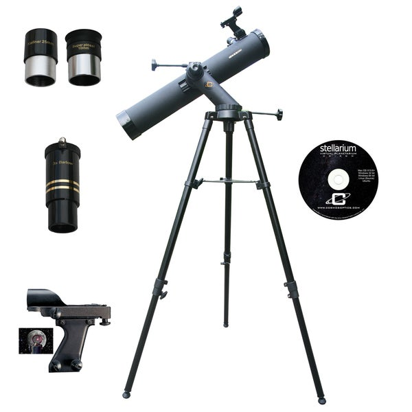 800mm x 80mm TRACKER Reflector Telescope Kit