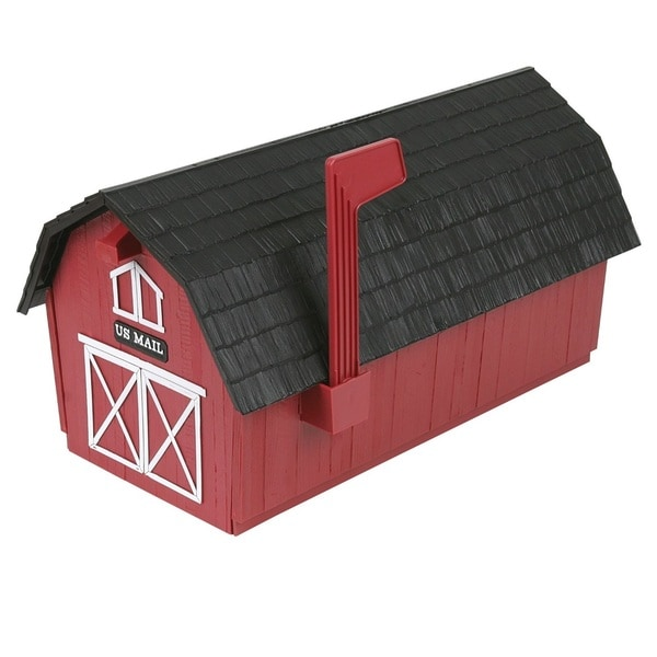 Flambeau Red Barn Mailbox