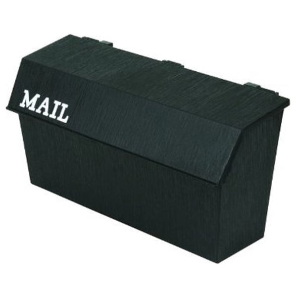 Flambeau, Wall Mount Mailbox, Black