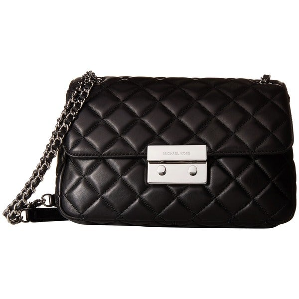 MICHAEL Michael Kors Sloan Chain Black Shoulder Bag