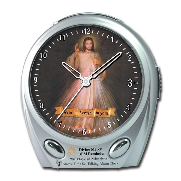 Maximal Power Divine Mercy Talking Atomic Alarm Clock