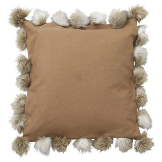 Sutton Down and Feather Filled 24-inch Throw Pillow