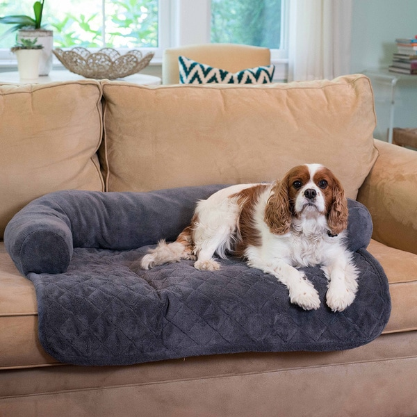 Ultra Plush Pet Bed & Furniture Protector for Dogs, Cats & Other Pets By Home Fashion Designs (As Is Item)