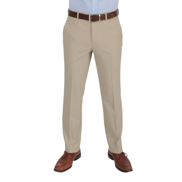 Dockers Performance Variegated Herringbone Slim Fit Khaki Pants