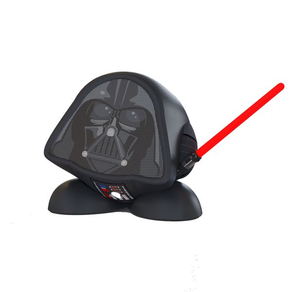 Kid Designs Darth Vader Bluetooth Speaker Black