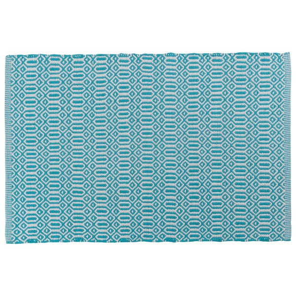 Bazaar Bali Blue Kitchen Mat