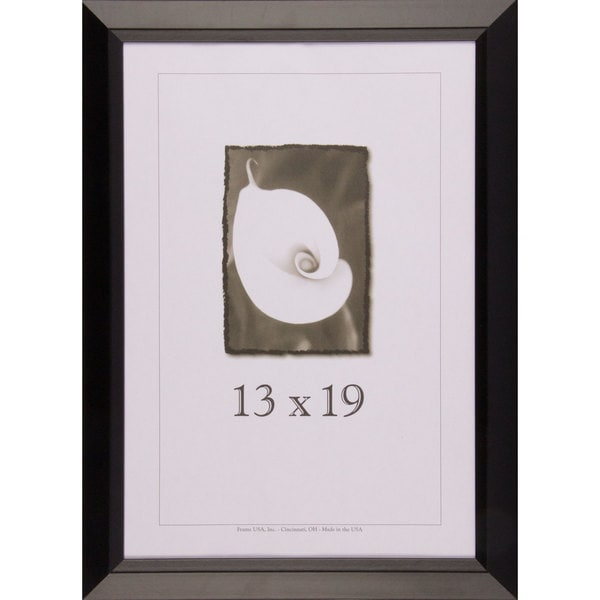 Black Narrow Picture Frame 13x19