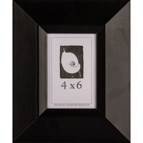 Black Wide Picture Frame 4x6