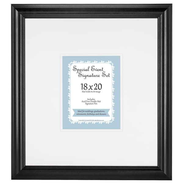 Retirement Signature Mat set for 8x10 photo