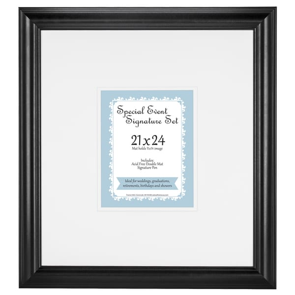 Bar Mitzvah Signature Mat set for 11x14 photo