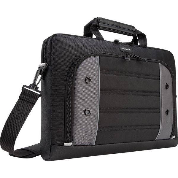 "Targus Drifter Carrying Case (Briefcase) for 15.6"" Notebook - Black,"