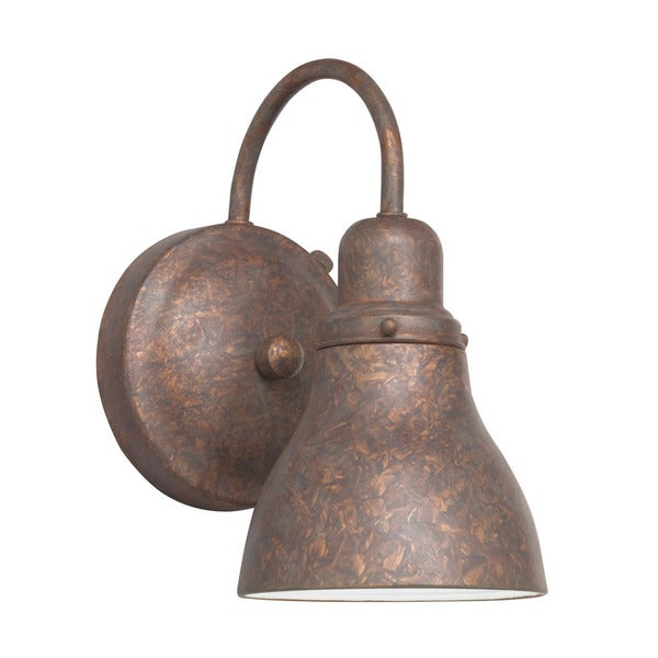 Kichler Lighting 1-light Distressed Copper Outdoor Wall Lantern