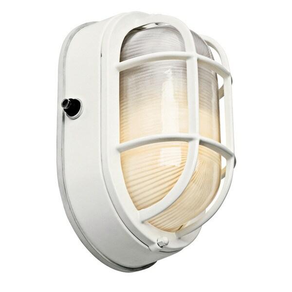 Kichler Lighting 1-light White Outdoor Wall Sconce