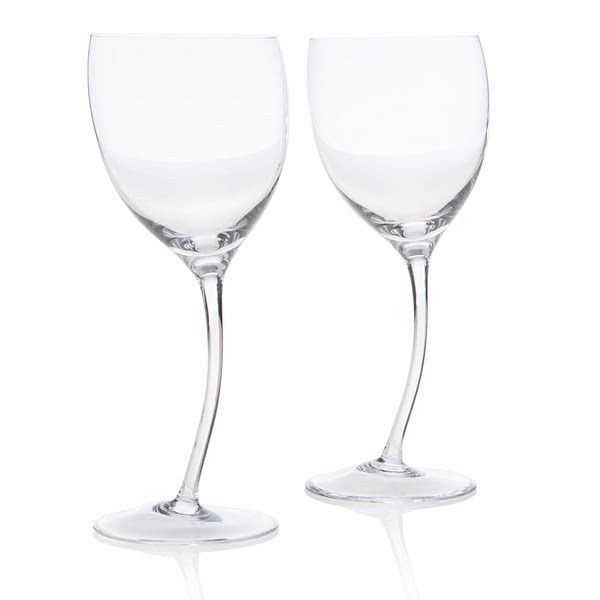 Nambe Tilt Wine Glass (Set of 2)