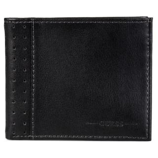 Guess Men's Genuine Leather ID Billfold Wallet