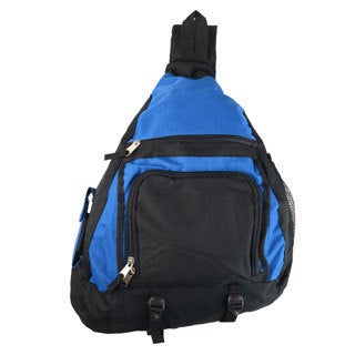 Vance Co. Men's Deluxe Sporty Sling Backpack