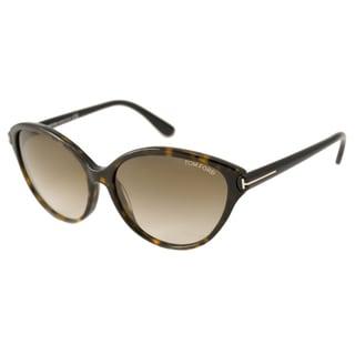 Tom Ford TF0342 Priscilla Women's Cat-Eye Sunglasses