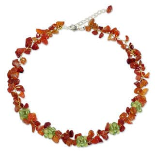 Handcrafted Multi-gemstone 'Heaven's Gift' Necklace (Thailand)