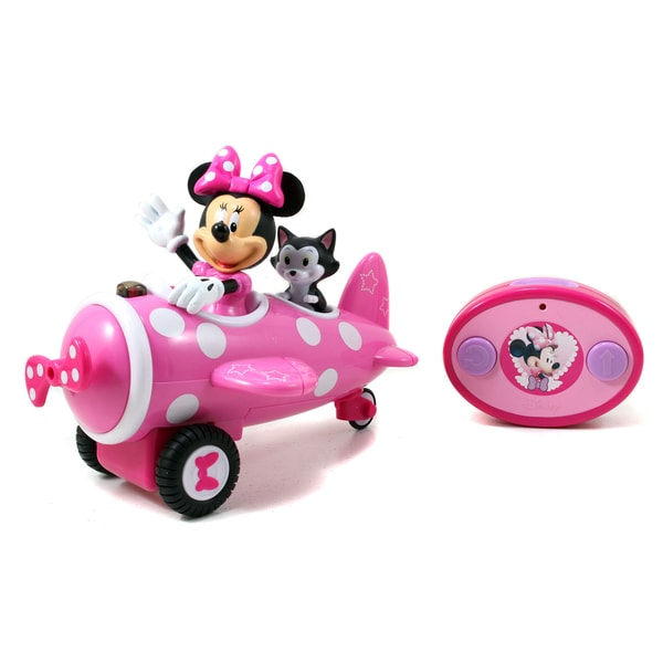Jada Toys Remote Control Minnie Mouse Airplane