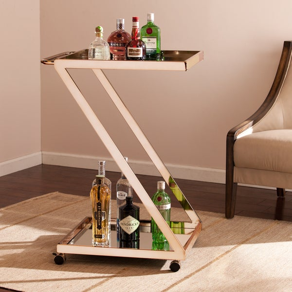 Upton Home Rider Bar Cart