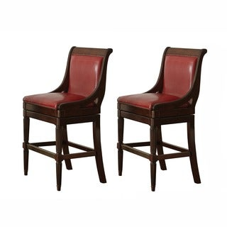 Greyson Living Fairford Swivel Bar Stool (Set of 2)