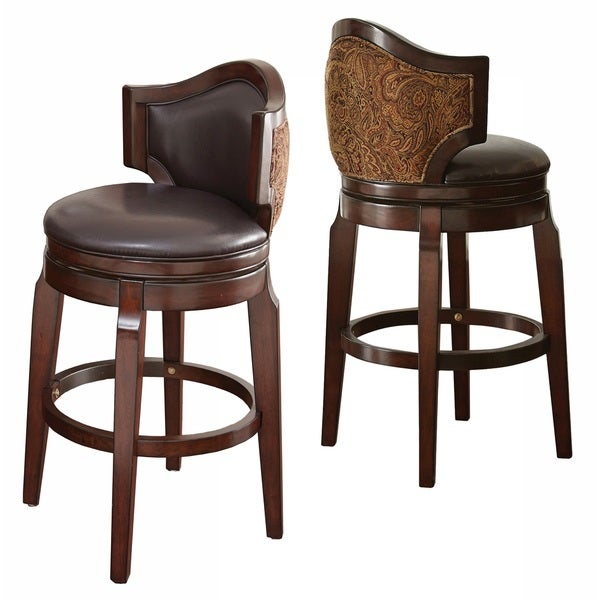 Greyson Living Jensen Low Back Bar Stool Set Of 2